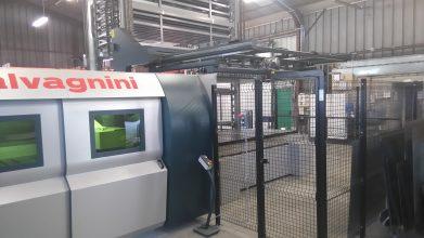 nouveau laser SALVAGNINI TMS tôlerie fine découpe laser sous-traitant