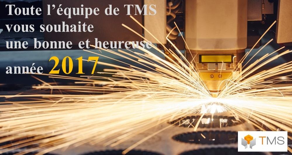 voeux TMS 2017 tôlerie fine bourgogne sous-traitant
