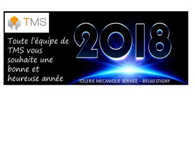 voeux TMS 2018 tolerie fine bourgogne